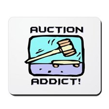 Auction Addict Mousepad