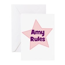 Amy Rules Greeting Cards (Pk of 10)