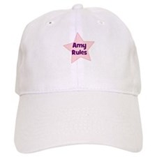 Amy Rules Baseball Cap