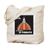 Florence Dome Black Tote Bag