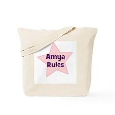Amya Rules Tote Bag