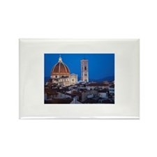 City rooftops and the  Rectangle Magnet (100 pack)