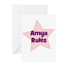 Amya Rules Greeting Cards (Pk of 10)