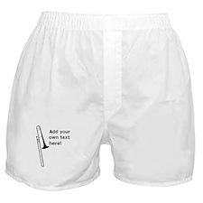 Custom Trombone Boxer Shorts