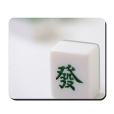 Mahjong tiles from China Mousepad