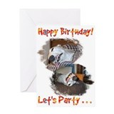 Cute 45 birthday Greeting Card