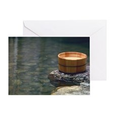Hot Spring Greeting Card