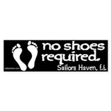 "No Shoes Required ""Sailors Haven"""