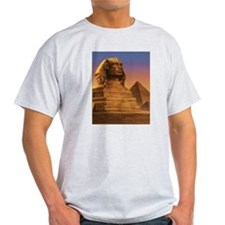 Wisdom of the Sphinx Ash Grey T-Shirt