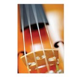 Close-up of violin and it Postcards (Package of 8)