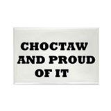 Cool Choctaw tribe Rectangle Magnet