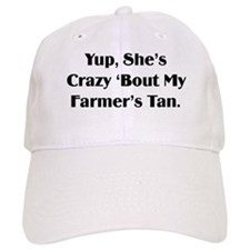 Farmer's Tan Baseball Cap
