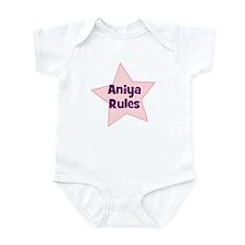 Aniya Rules Infant Bodysuit