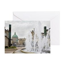 Frederikskirken marble c Greeting Cards (Pk of 10)