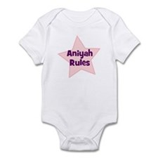 Aniyah Rules Infant Bodysuit