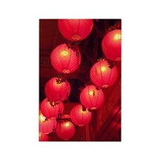 Red Lanterns Magnet