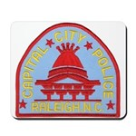 Raleigh Police Mousepad