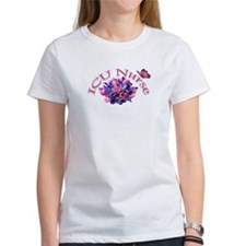 ICU Nurse Iris & Tulips Tee