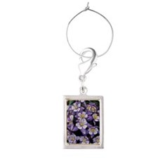 Colorado Wildflower Portrait Wine Charm