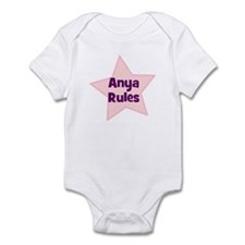 Anya Rules Infant Bodysuit