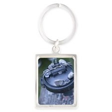 Dutch Oven,close-up Portrait Keychain
