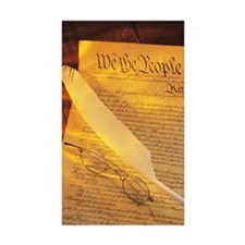 US constitution , quill  Decal