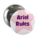 "Ariel Rules 2.25"" Button (10 pack)"