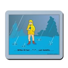 Rain Geocacher Mousepad