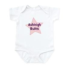 Ashleigh Rules Onesie