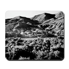 Vintage image of Scotty's Castle in Death Mousepad