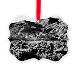 Vintage image of Scotty's Castle  Ornament