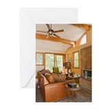 Living room Greeting Cards (Pk of 10)