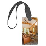 Living room Luggage Tag