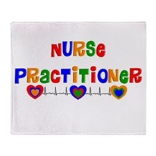 Nurse practitioner 2 Throw Blanket