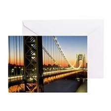 George Washington Bridge Greeting Cards (Pk of 10)