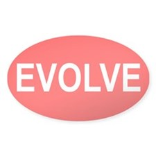 Evolve - Oval Decal