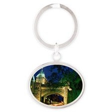 Saint Louis Gate, Old Quebec City, Q Oval Keychain