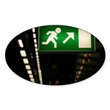Exit sign Decal