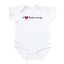 I Heart Rollerderby! Infant Bodysuit