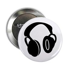 DJ Headphones Button