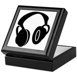 DJ Headphones Keepsake Box
