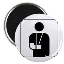 "Orthopedics symbol against  2.25"" Magnet (10 pack)"