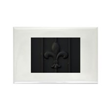 Close-up of fleur-de-li Rectangle Magnet (10 pack)