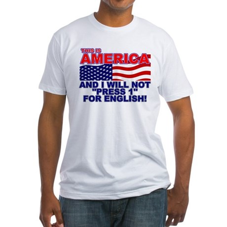 Will Not Press 1 Fitted T-Shirt