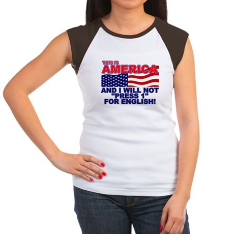 Will Not Press 1 Women's Cap Sleeve T-Shirt
