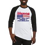 Will Not Press 1 Baseball Jersey