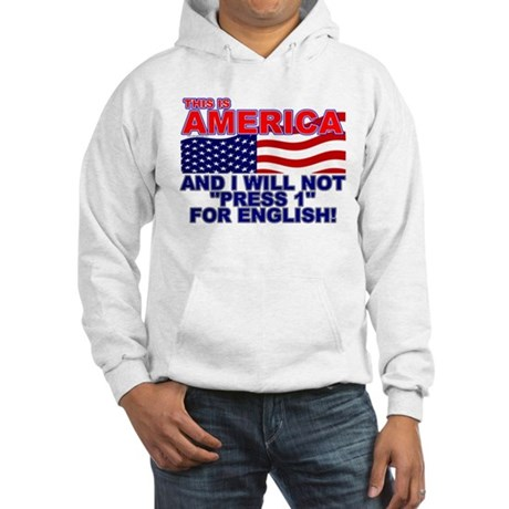Will Not Press 1 Hooded Sweatshirt