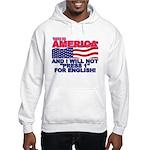 Will Not Press 1 Hooded Sweatshirt