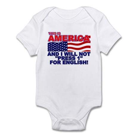 Will Not Press 1 Infant Bodysuit
