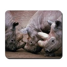 Rhinoceroses Mousepad